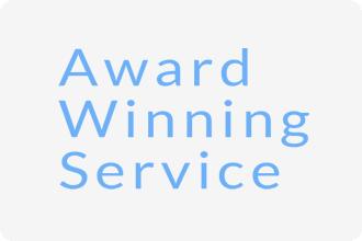 Award Winning Service