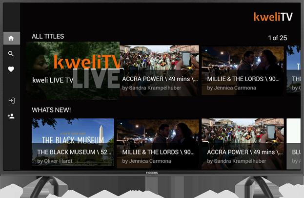 Kweli TV Mockup