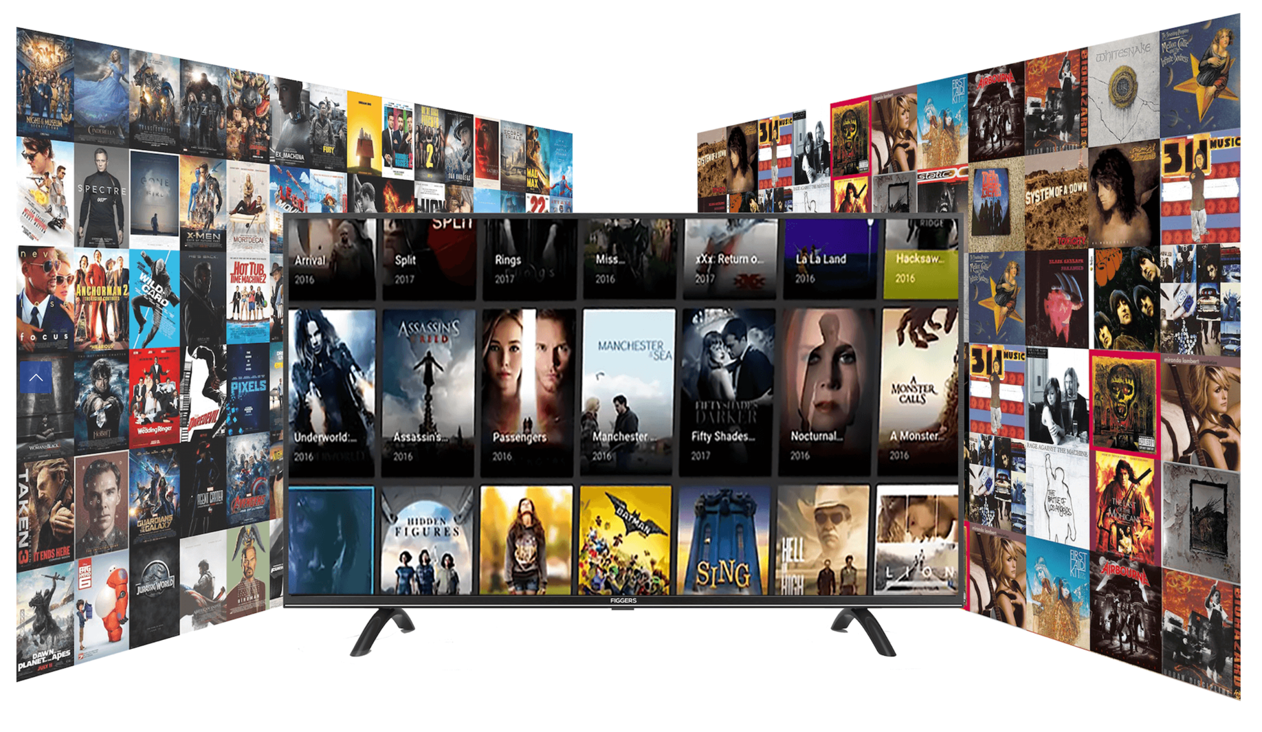 Smart TV Your Own Library